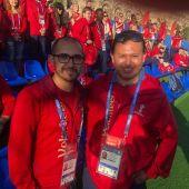 Voluntarios en el Mundial de Rusia