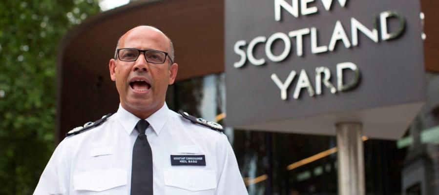 El jefe de la policía antiterrorista del Reino Unido, Neil Basu