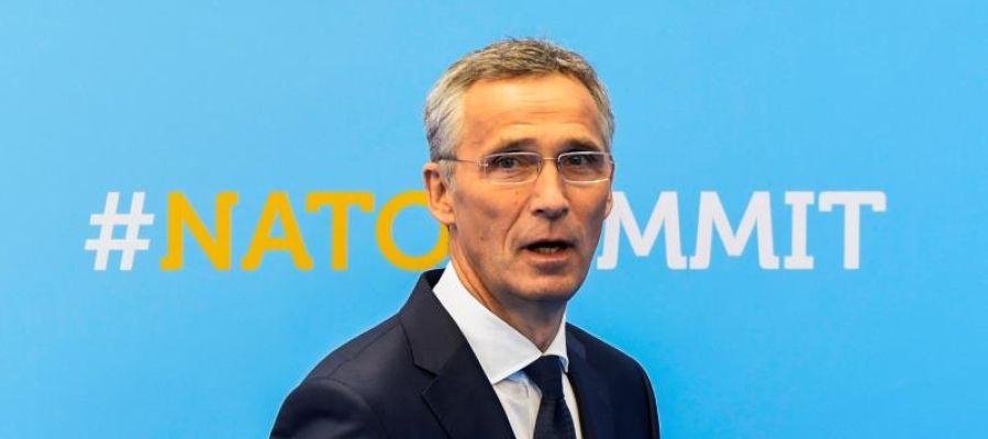 El secretario general de la OTAN,Jens Stoltenberg