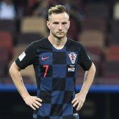 El centrocampista de Croacia, Ivan Rakitic.