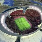 Estadio de Qatar 2022.