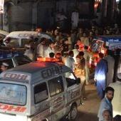 Imagen de archivo de un atentado en Pakistán