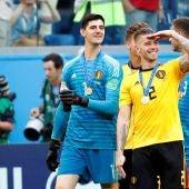 Courtois, tras la final de consolación ante Inglaterra