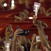 Pamplona se despide de San Fermín entonando el 'Pobre de mí'