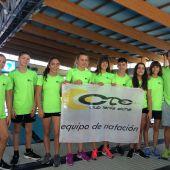 Los representantes del CN Tenis Elche en el Campeonato Nacional Alevín de Sabadell