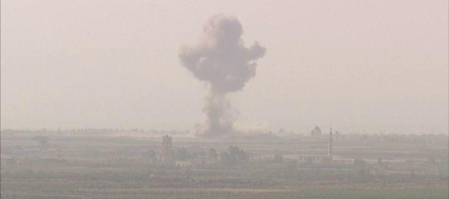 Más de 180 muertos en varios atentados en el suroeste Siria