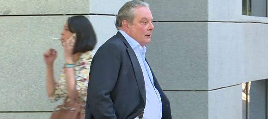 Villarejo llega a la Audiencia Nacional para declarar por los audios de Corinna