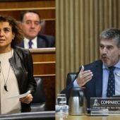 Dolors Montserrat e Ignacio Cosidó, portavoces del PP en Congreso y Senado