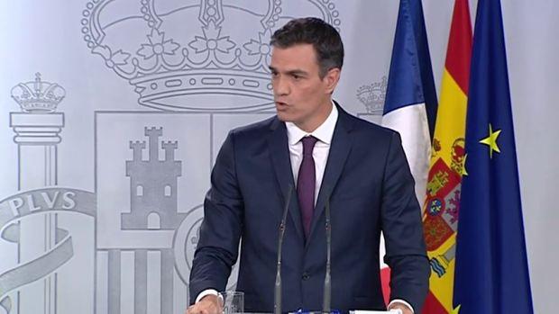 Los mejores totales de la primera rueda de prensa de Pedro Sánchez como presidente en España