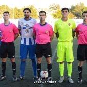 El capitán del Crevillente Deportivo y el del Ilicitano en el encuentro de la temporada pasada