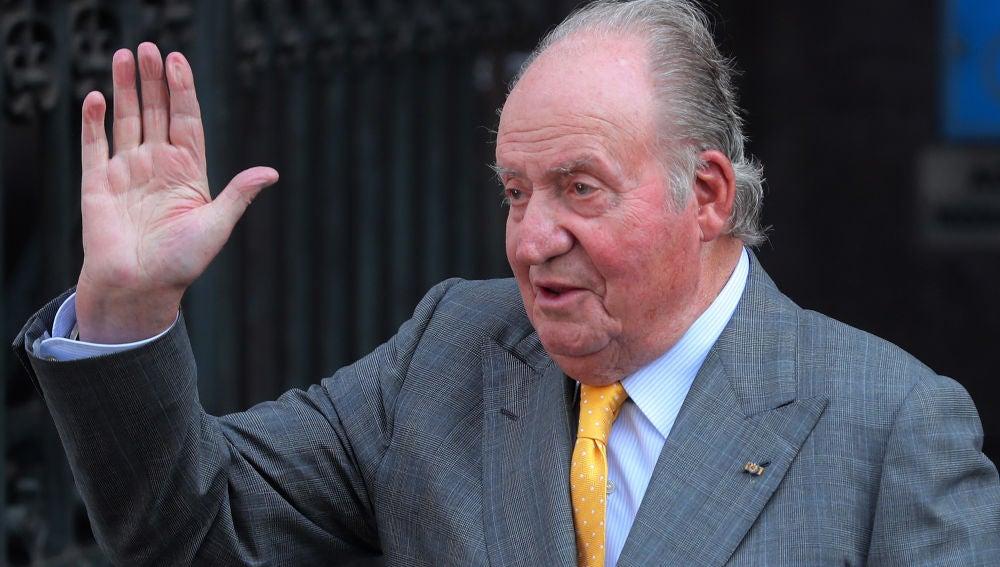El Rey Juan Carlos, en un acto público