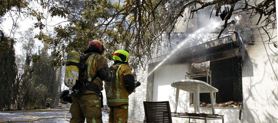 Puig informa que este viernes se espera dar por controlado el incendio de Llutxent