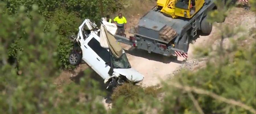 Rescatan el cadáver de una mujer dentro de un coche en un embalse de Cuenca