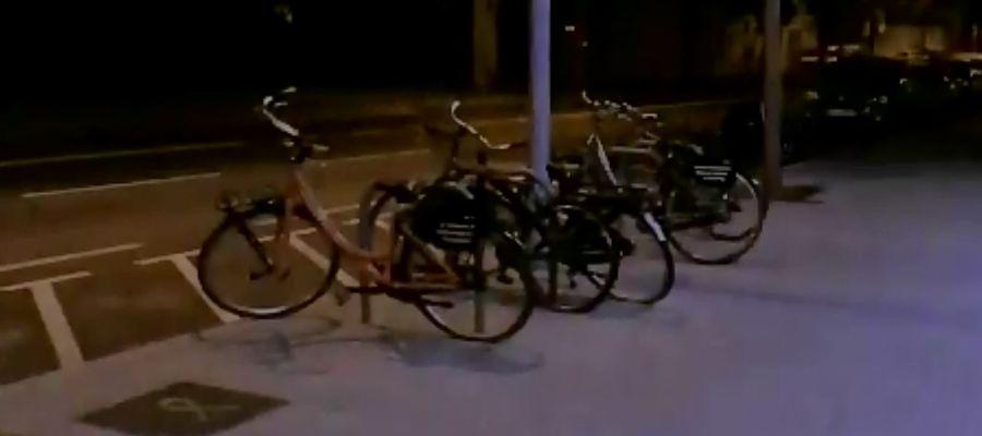 Las bicicletas expropiadas y sorteadas por Arran (CUP)