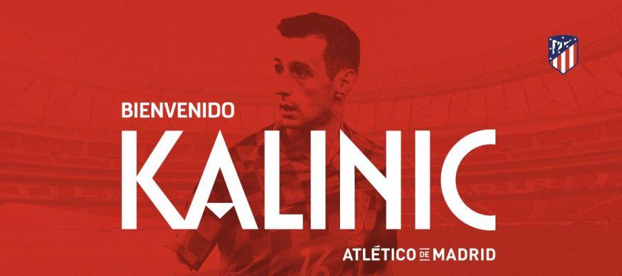 Kalinic, nuevo jugador del Atlético