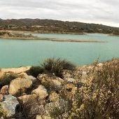 Embalse de Crevillent en el que se almacena el agua procedente del trasvase Tajo-Segura