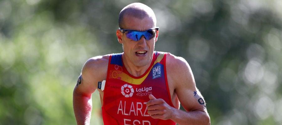 El atleta español Fernando Alarza