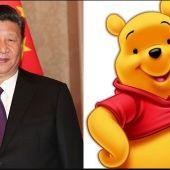 Comparan al presidente de China con Winnie The Pooh