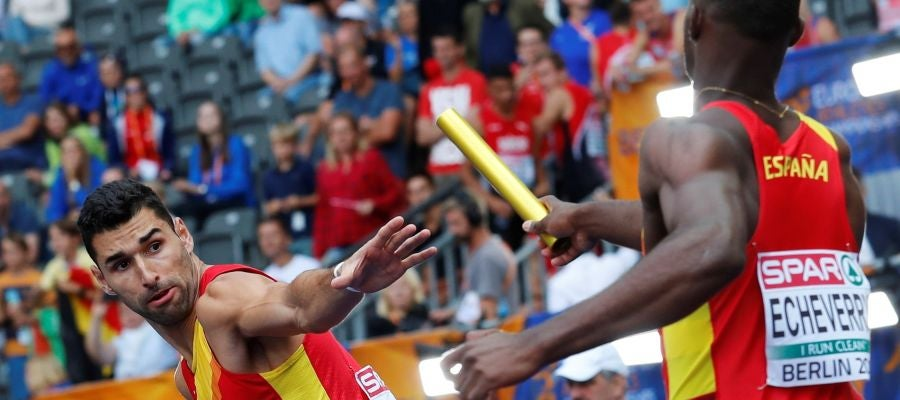 Samuel García releva a Echeverry en los Europeos de atletismo