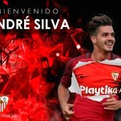El Sevilla da la bienvenida a André Silva