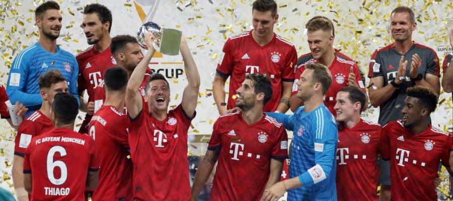 El Bayern levanta la Supercopa de Alemania