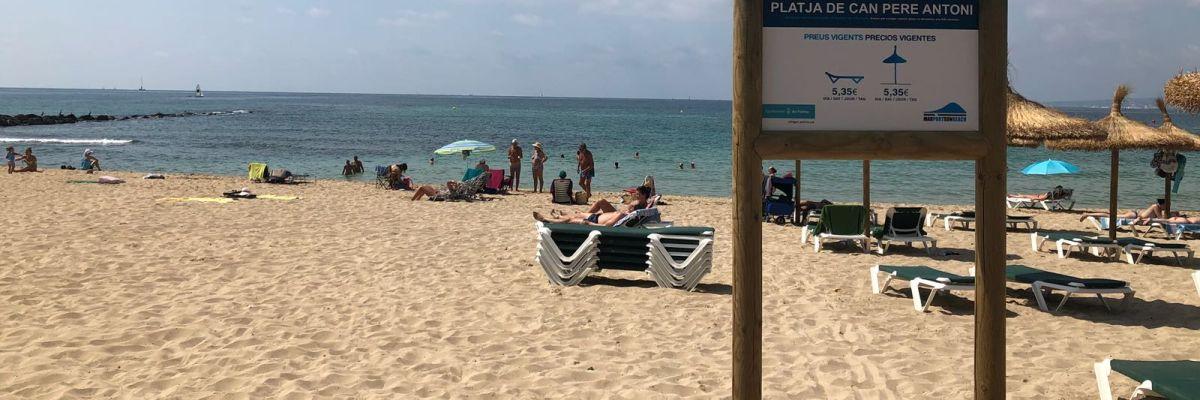 Imagen de la Playa de Palma