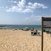 La playa de Can Pere Antoni de Palma