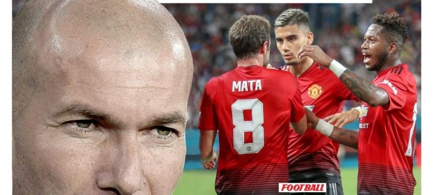 Portada del diario L'Equipe con Zidane