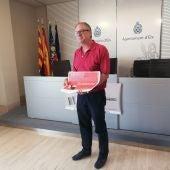Carlos Sánchez, Concejal de Mercados, presenta la campaña