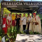 Villa-Lucía gana el Concurso de Pintxos Medievales de Laguardia.