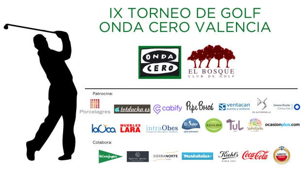 IX Torneo Golf Onda Cero Valencia