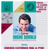 Cartel de la ponencia de Nacho Somalo para la clausura del Programa.