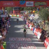 King logra la victoria en la cuarta etapa de la Vuelta