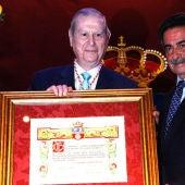 Alfonso Osorio, Medalla de Oro de Cantabria