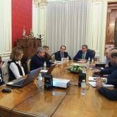 reunion ayuntamiento junta arquitectos