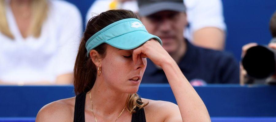 Alizé Cornet en el US Open