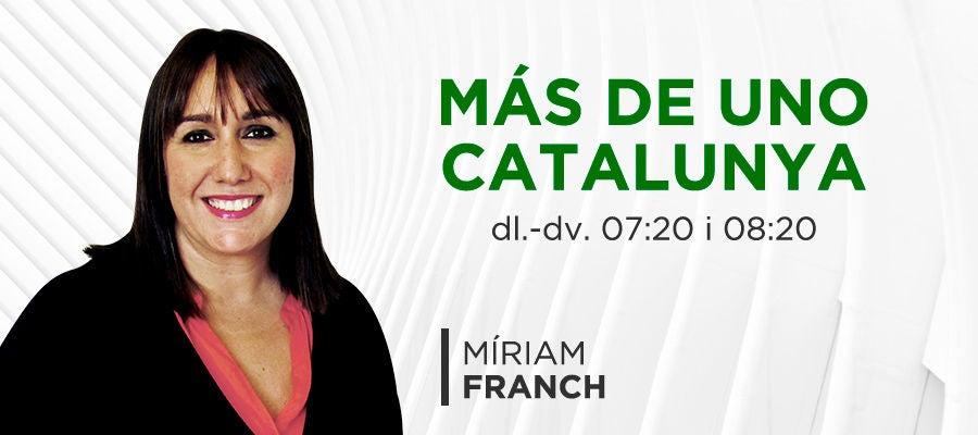 Más de Uno Catalunya amb Míriam Franch