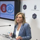 Aurora Galisteo, viceportavoz del PP en el Ayuntamiento de C.Real