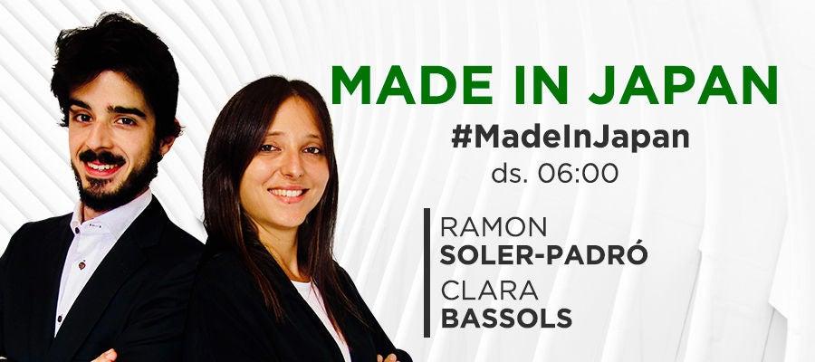Made In Japan amb Ramon Soler-Padró i Clara Bassols