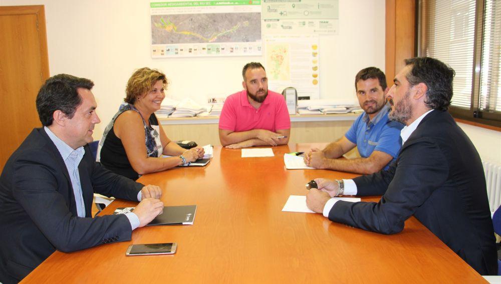Reunión entre el Ayuntamiento y el CD Castellón