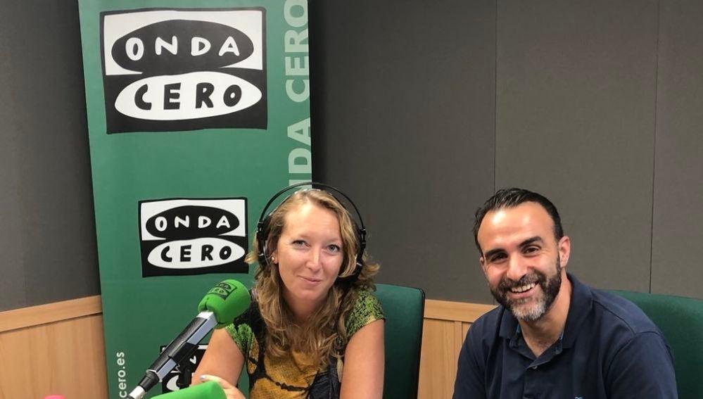 El presidente de Afedeco, Rafel Ballester, visita los estudios de Onda Cero Mallorca después de la polémica por el 'top manta'.