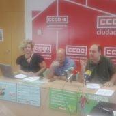 CC.OO. ha presentado dos campañas informativas para Hostelería y Comercio