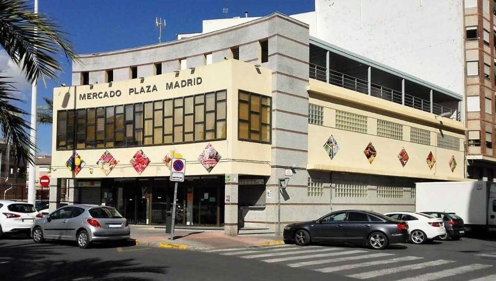 Edificio del Mercado Plaza de Madrid de Elche