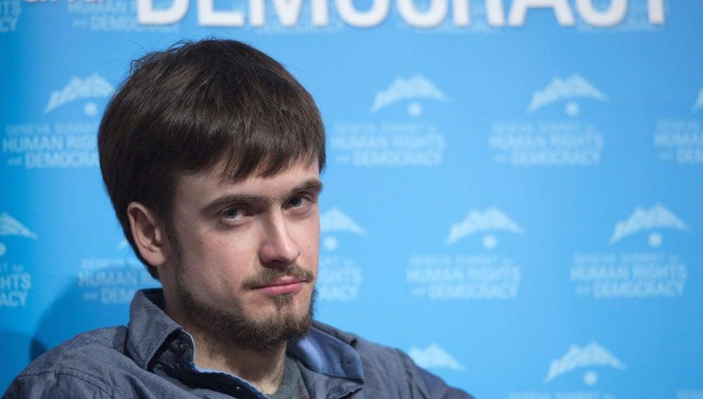 Pyotr Verzilov, miembro de Pussy Riot