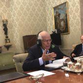 Josep Borrell desde el Congreso en Onda Cero