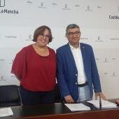 Carmen Olmedo y Francisco Navarro