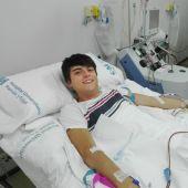 Antonio, donante de médula