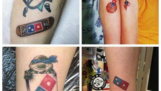 Domino's Pizza retira una promoción de pizza gratis por tatuarse su logo, tras el éxito de la campaña