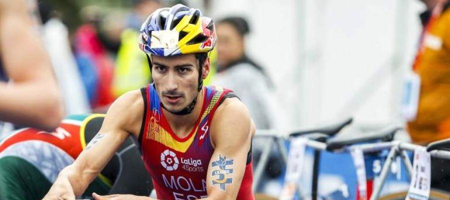 El triatleta español, Mario Mola