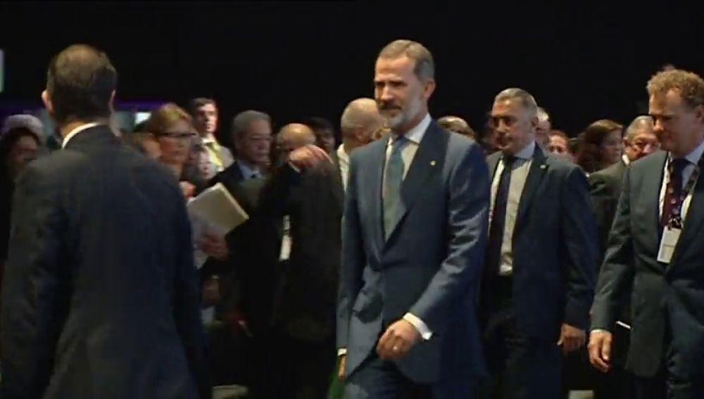 REEMPLAZO   El Rey Felipe VI inaugura la feria Gastech en Cataluña sin presencia del Govern, su sexta visita a la CCAA desde el 1-O